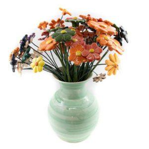 Comprar flores de cerámica