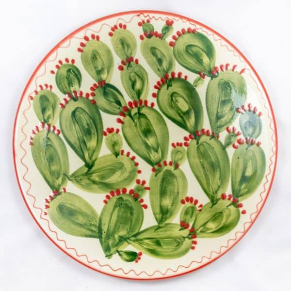 Comprar plato de pared Cactus